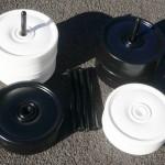 Garden Draughts/Checkers Set 250mm Diameter
