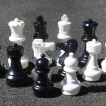 Garden Chess Set 300mm King