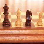 Folding Chess Set. 78mm King