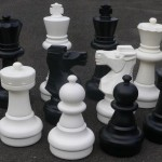 Garden Chess Set 640mm King