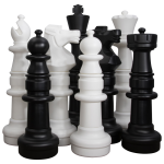 Garden Chess Set 900mm King
