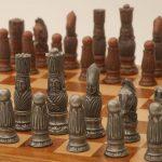 Berkeley Chess Victorian Chessmen Metallic