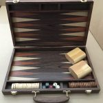 "Wood Backgammon Set 15"" (375 x 485mm)"